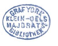 Stempel Yorck von Wartenburg II